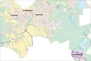 Foerdergebiet Knappenrode Uebersicht