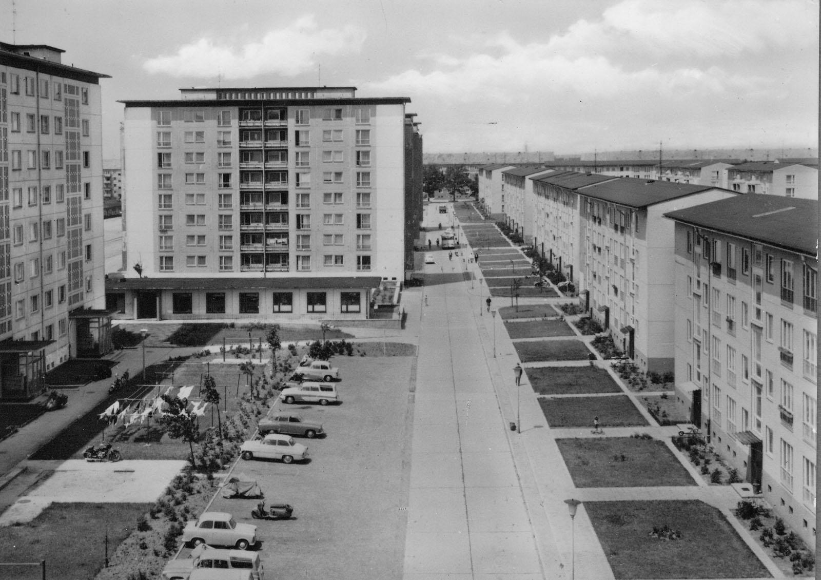 Wohnkomplex III um 1965