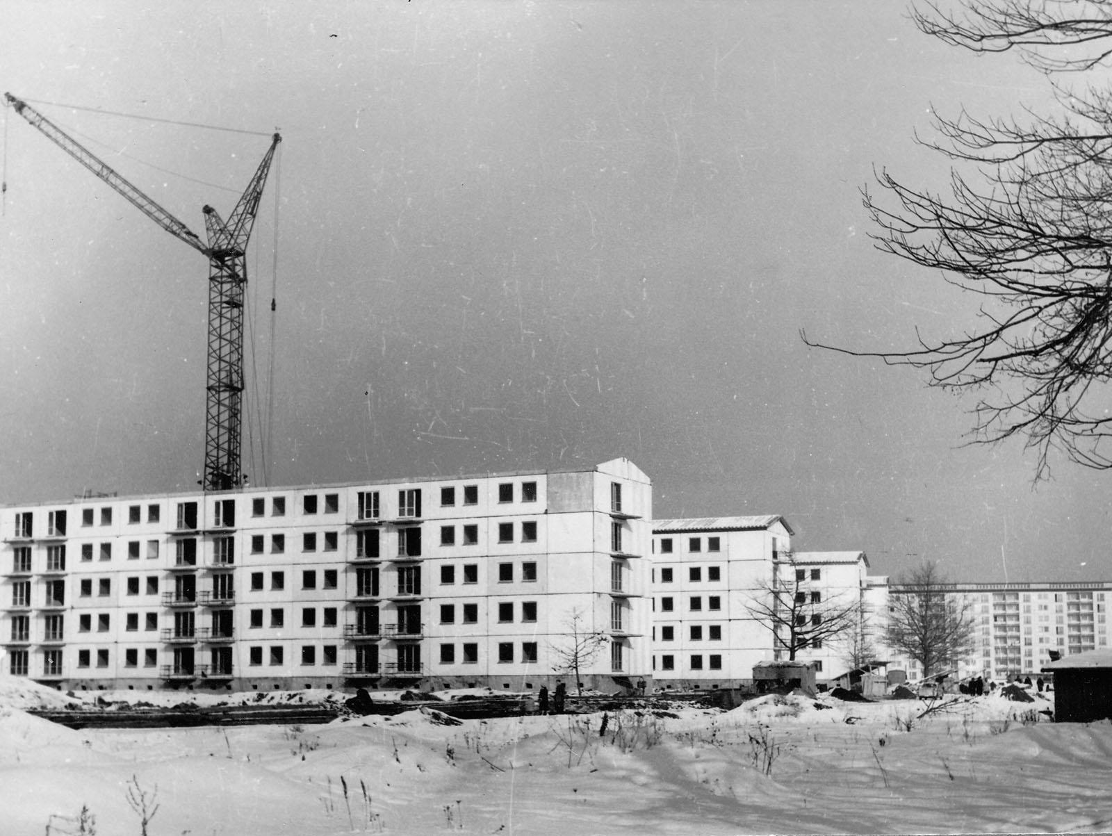Wohnkomlpex II um 1961