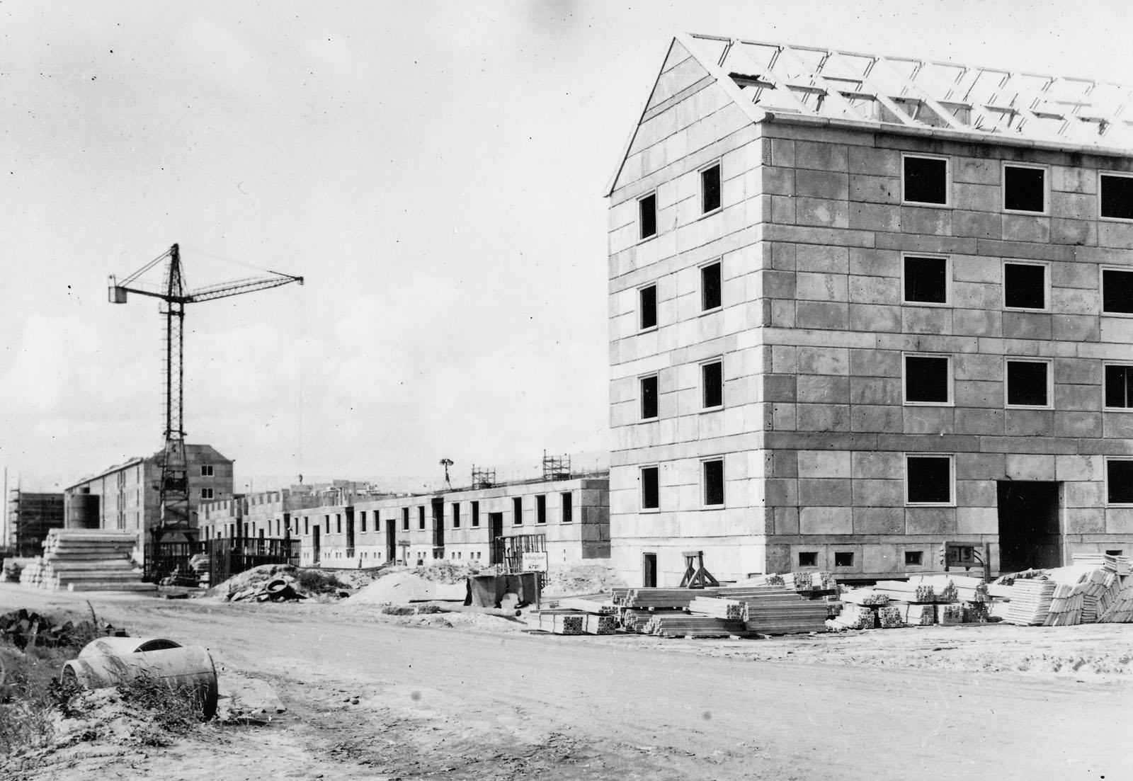 Wohnkomplex I um 1965