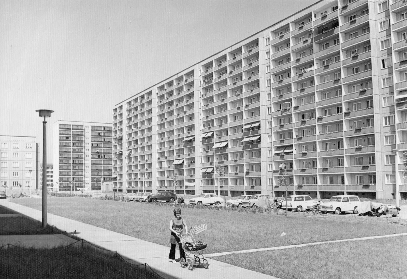 Wohnkomplex VIII um 1977