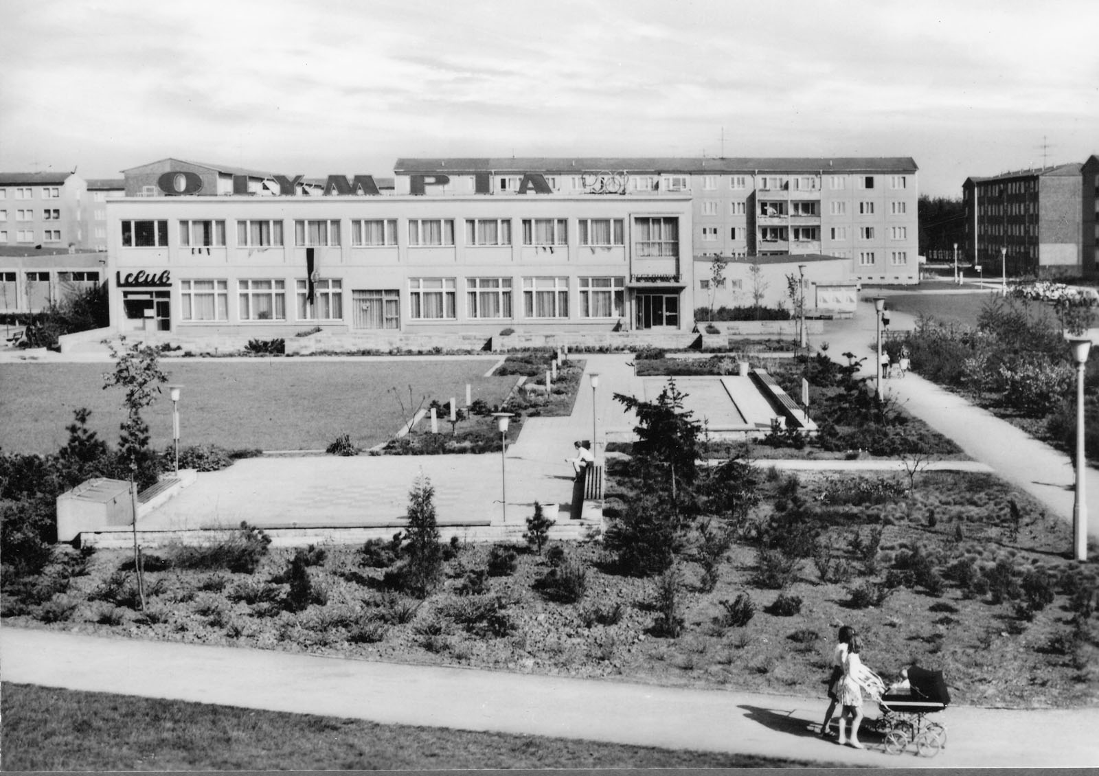 Wohnkomplex VII um 1975