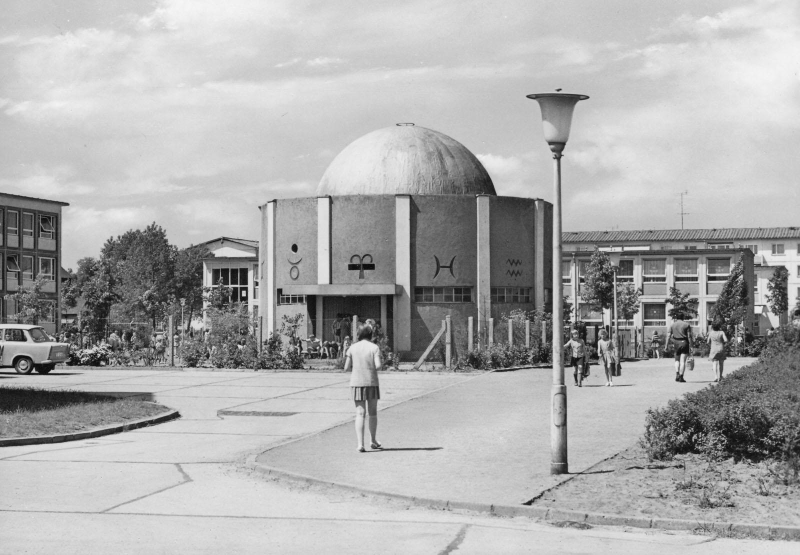 Wohnkomplex VI um 1970
