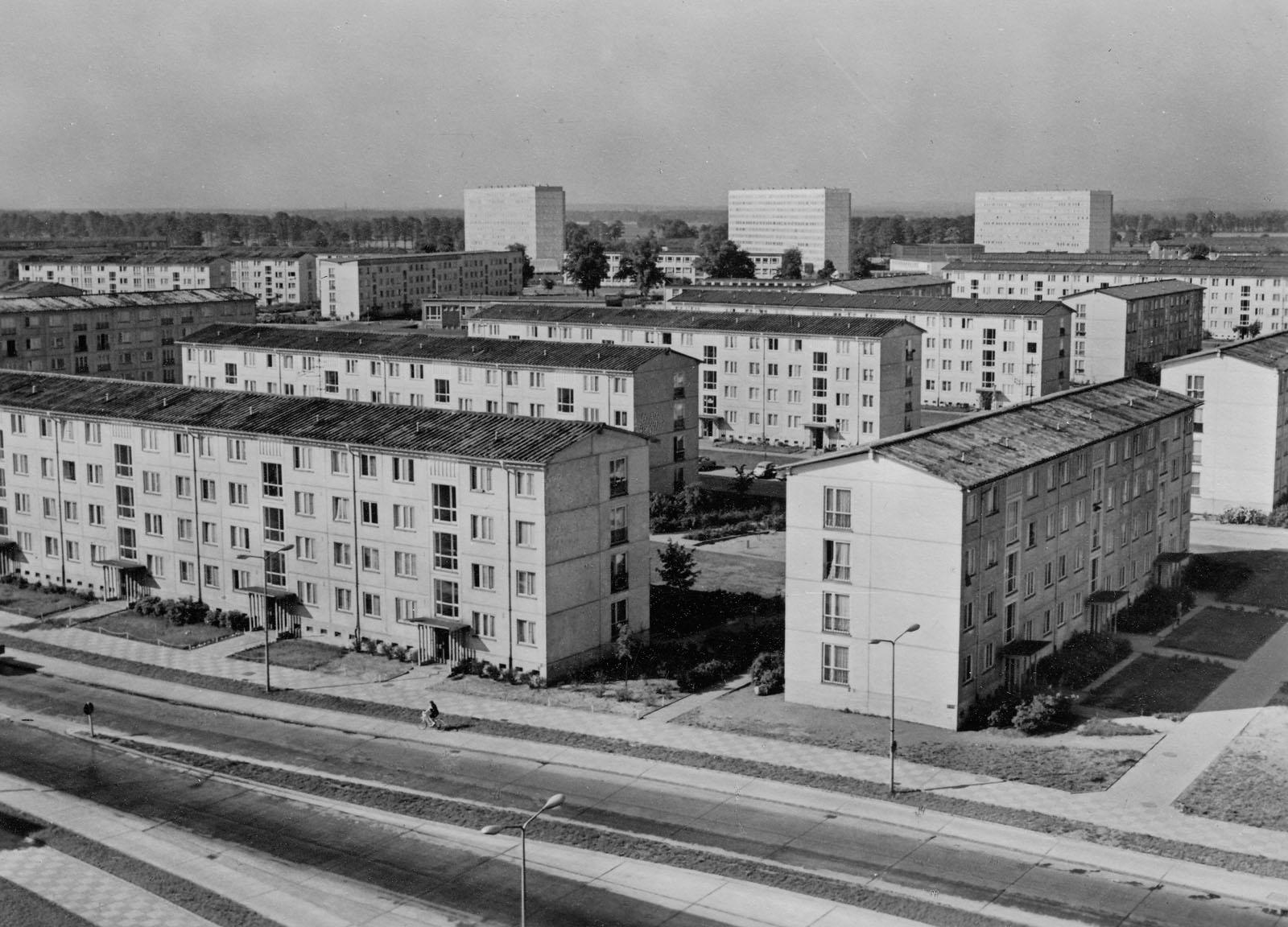 Wohnkomplex V um 1970