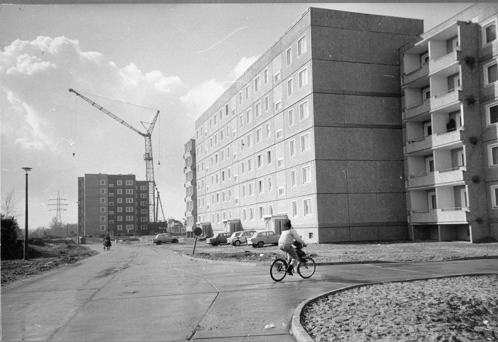 Wohnkomplex X um 1980