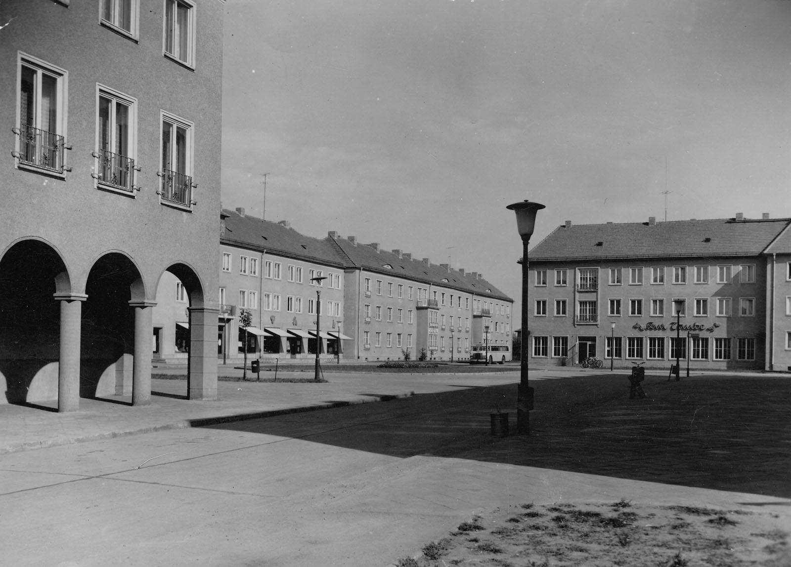 "Platz ""An der Taube"" um 1957"