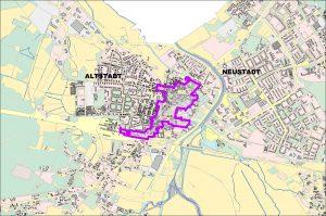 Zentrenbereich Altstadt Uebersichtskarte