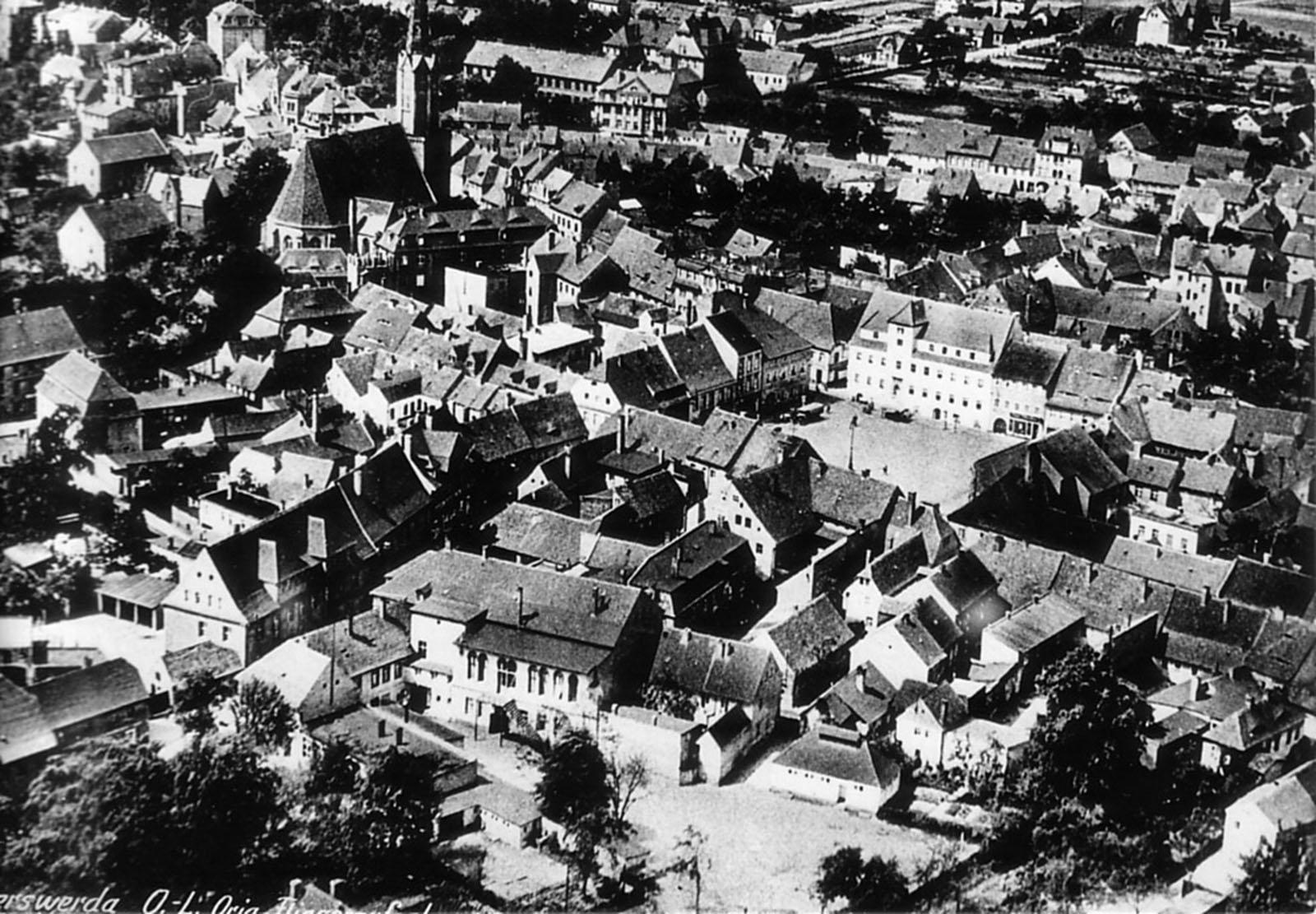 Luftbild um das Jahr 1940