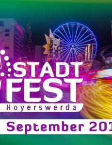"""23. Stadtfest Hoyerswerda """"Das große Stadtfest in der Neustadt"""""""