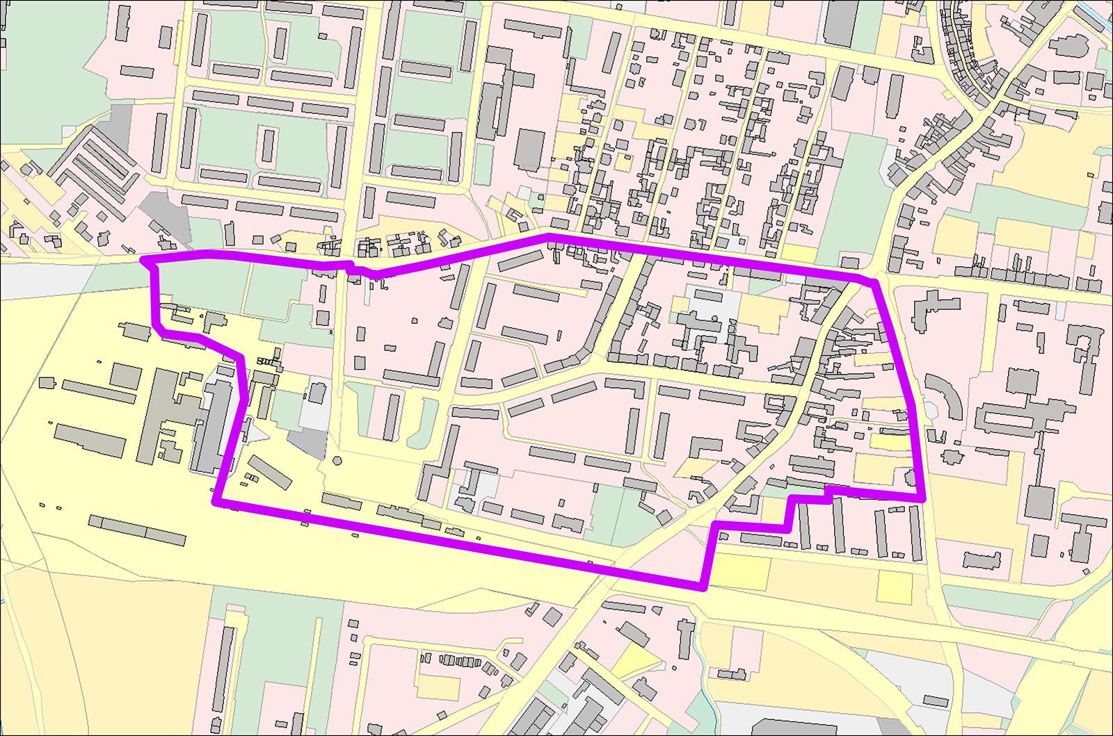 Sanierungsgebiet Bahnhofsvorstadt