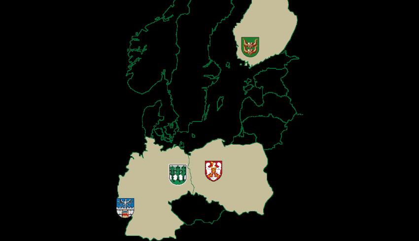 Städtepartnerschaften - Partnerstwa města Wojerec