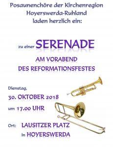 Serenade am Vorabend des Reformationsfestes