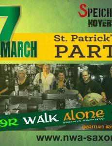 St. Patrick's Day - lange Konzertnacht mit