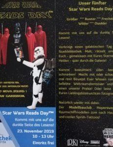 Star Wars Reads Day in der Brigitte-Reimann Stadtbibliothek Hoyerswerda