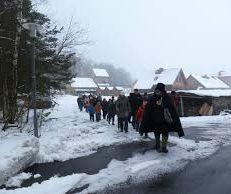 Winterwanderung mit dem Schwarzen Müller