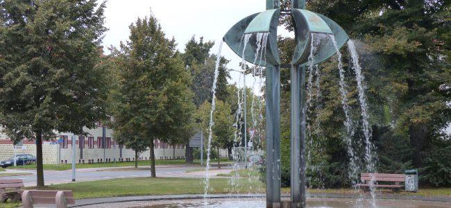 ZDF-Springbrunnen in Hoyerswerda