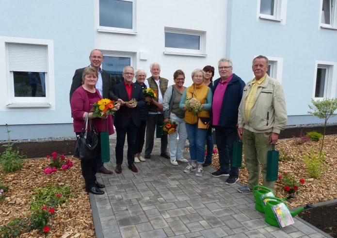 Foto Schlüsselübergabe Haus Scheibe-See