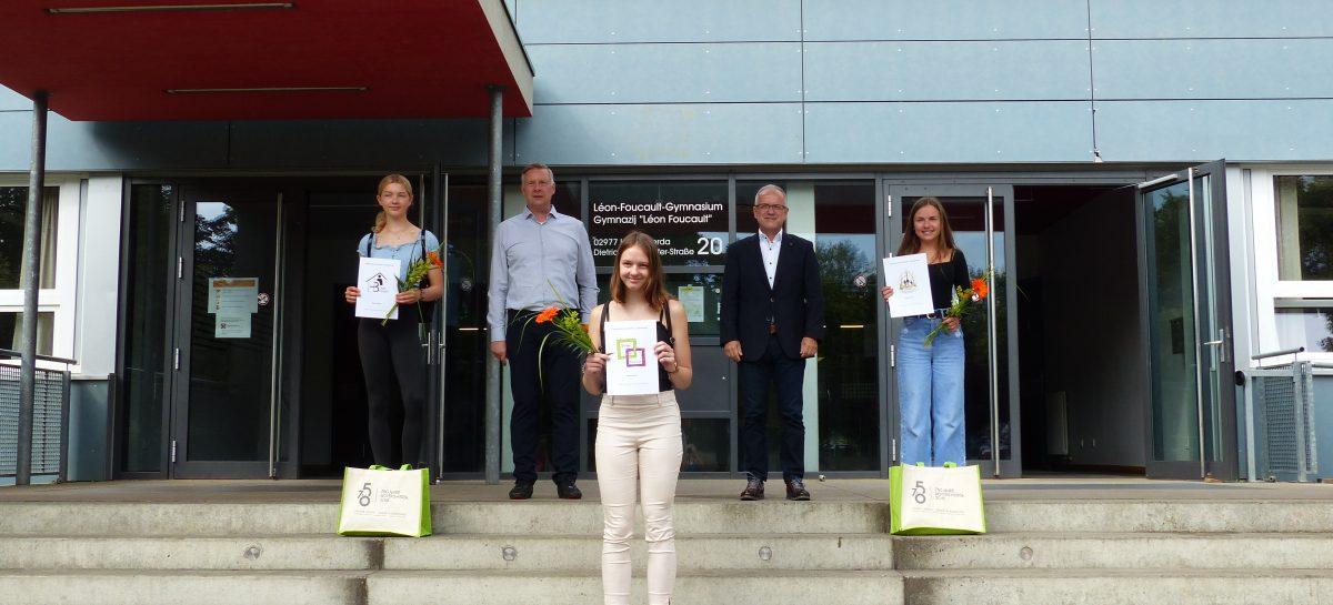 Preisträgerinnen des Logowettbewerbes