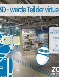ZCOM 3D - Werde Teil der virtuellen Tour