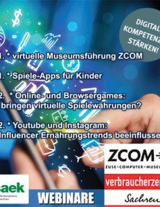Kostenloses Webinar der Verbraucherzentrale Sachsen