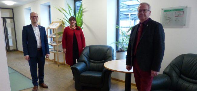 Dawid Statnik, Sonja Rehor und Torsten Ruban-Zeh