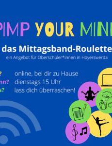 Mittagsband-Roulette (Online-Veranstaltung)