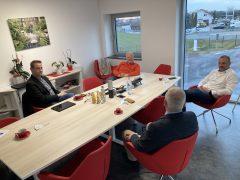 Im Gespräch mit den Geschäftsführern Frank und Marko Schiefelbein