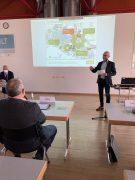 Vortrag Herr Hendrich, Geschäftsführer Versorgungsbetriebe Hoyerswerda GmbH