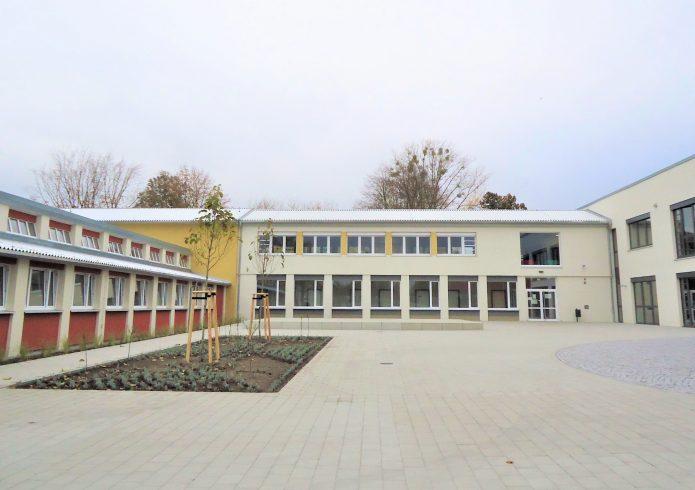 Neue Oberschule südlich der Turnhalle nachher 2020