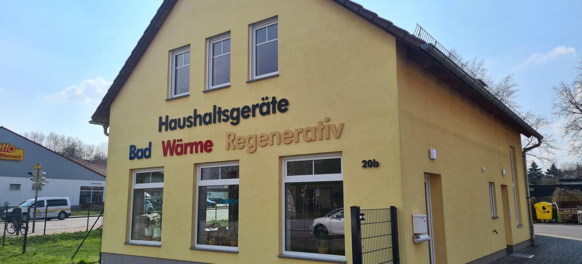 Vorderansicht Unternehmenssitz Scholze Haustechnik