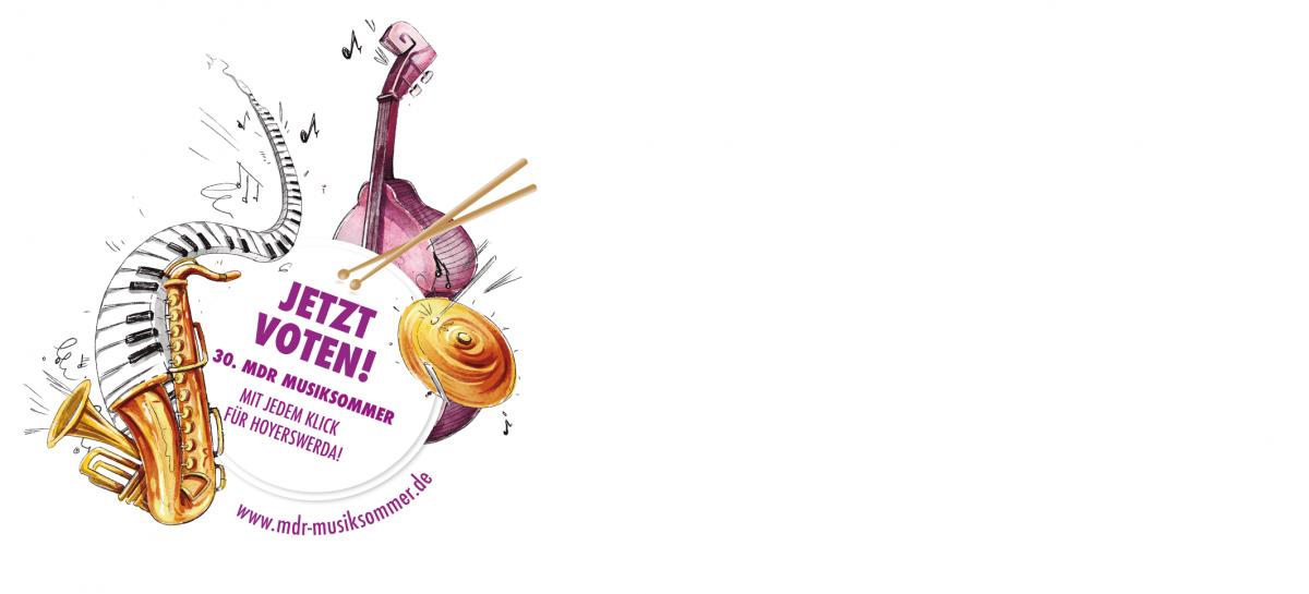 Logo Voting MDR Musiksommer