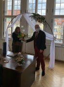 Oberbürgermeister Torsten Ruban-Zeh gratuliert