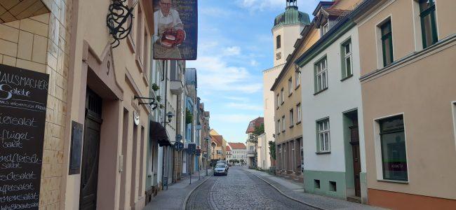 Kirchstraße im Mai 2021