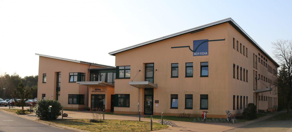 Gebäude der Hoy-Reha GmbH