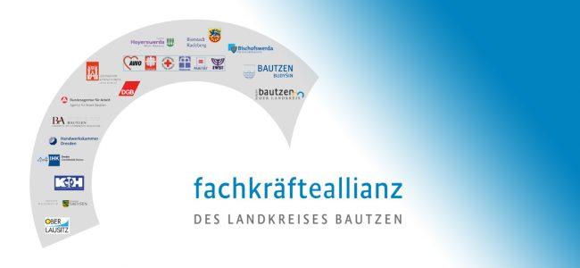 Beitragsbild mit Logo der FKA Bautzen und Farbverlauf