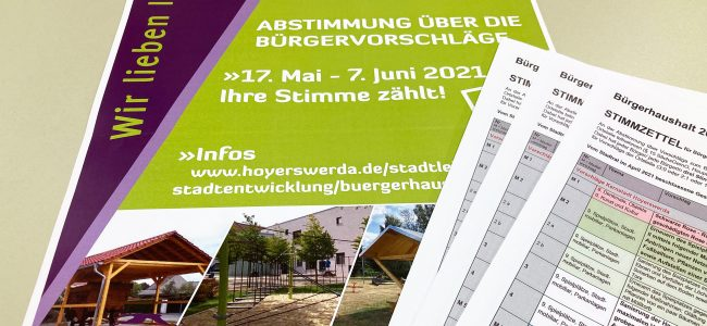 Bürgerhaushalt 2021 - vorläufiges Ergebnis