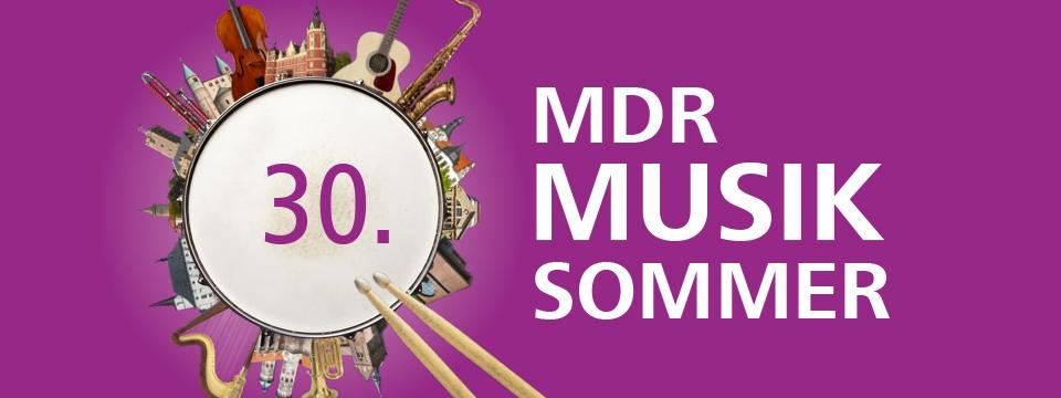 Logo 30. MDR Musiksommer