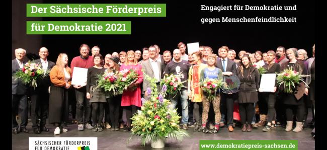 Sächsischer Förderpreis für Demokratie (Plakat)