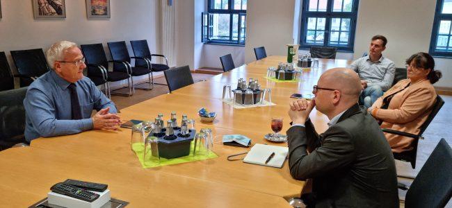 OB im Gespräch mit Domowina-Vertretern