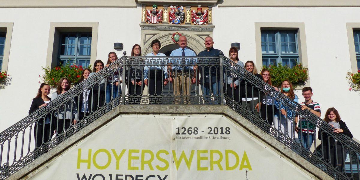 die 11 neuen Auszubildenden und FSJ-Teilnehmer