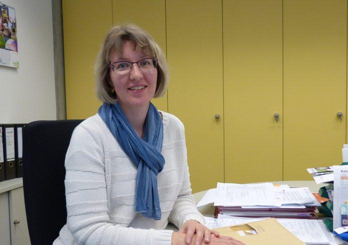 Korina Jenßen (Gleichstellungsbeauftragte)