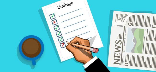 Umfrage (Symbolbild)