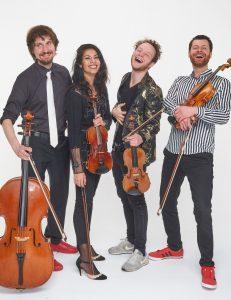 Feuerbach Quartett, die Silvester-Konzerte 21/22